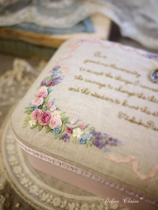 Ribbon Embroidery [Atelier Claire]