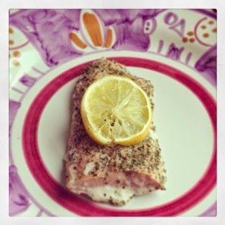 Foodolina: The salmon post