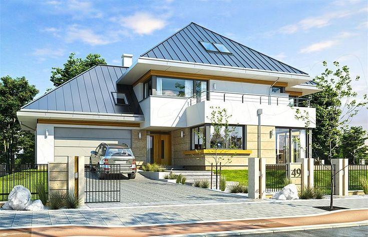 projekt Dom z widokiem 2 C WAH1862