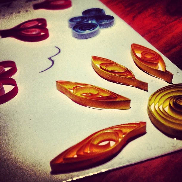 Lots of love  Quilling