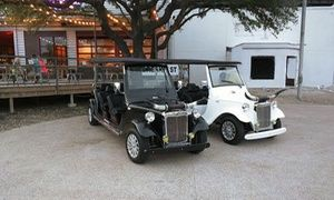 Groupon - Electric Cruizer Dallas City Tour for Two, Four, or Six at Dallas City Tours (Up to 50%Off) in Downtown Dallas. Groupon deal price: $21