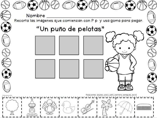 Letra P Silabas pa, pe, pi, po, pu | SPANISH Learning | Pinterest ...