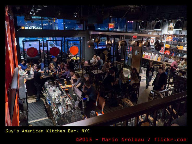 https://flic.kr/p/yTqpUh   Guy's American Kitchen Bar, NYC   Un bon resto sur la 44th rue