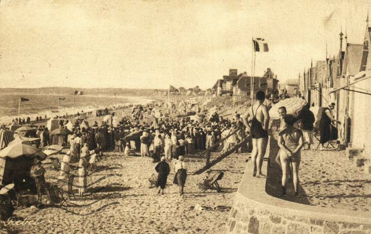 Carolles, Manche Normandy  http://www.normandythenandnow.com/beware-the-fairies-of-the-lude-in-carolles/