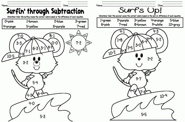 27 Inspired Photo Of Coloring Pages For Kindergarten Entitlementtrap Com Addition Coloring Worksheet Kindergarten Addition Worksheets Kindergarten Coloring Sheets Coloring picture for kindergarten