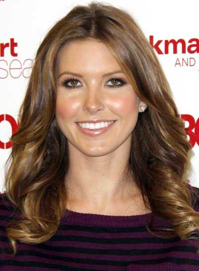 pictures of brunettes with high and lowlights | Audrina Patridge Romantic, Brunette Hairstyle with Highlights - Beauty ...
