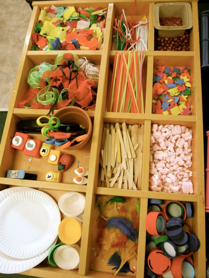 Collage material tray collection at Antonio School via Walker Learning Approach: Personalised Learning ≈≈