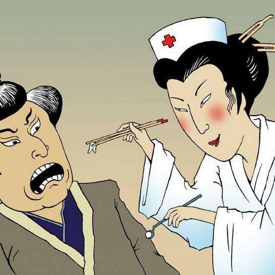 🤔ЗНАЕТЕ ЛИ ВЫ, ЧТО Древние японские стоматологи  для удаления зубов пользовались исключительно силой своих рук, не прибегая к посторонним инструментам😏. К счастью, эти времена миновали! Наши хирурги мастерски владеют инструментами, поэтому пациенты чувствуют себя комфортно, а все процедуры проводятся без боли. __________________________  Запись на бесплатную консультацию по телефонам: 📞8(812)980-15-59 📞8(965)769-42-30 ИМЕЮТСЯ ПРОТИВОПОКАЗАНИЯ. ТРЕБУЕТСЯ КОНСУЛЬТАЦИЯ СПЕЦИАЛИСТА. 18…
