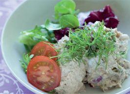 En kaloriefattig ret til fastedagene i 5:2 Kuren.