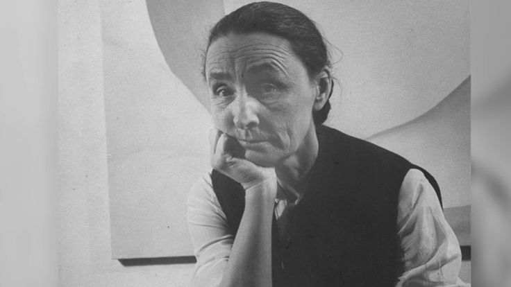 """Georgia O'Keeffe: """"Known for her striking flower paintings and other captivating works, O'Keeffe was one of the greatest American artists of the twentieth century.... As popular as ever, her works can be seen at museums around the world as well as the Georgia O'Keeffe Museum in Santa Fe, New Mexico."""""""