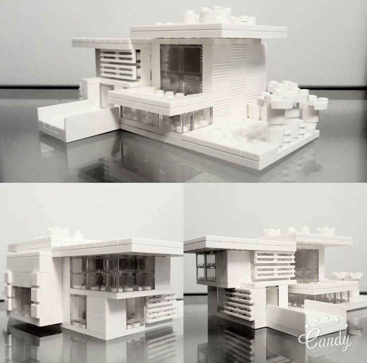 House in Lego Architecture Studio