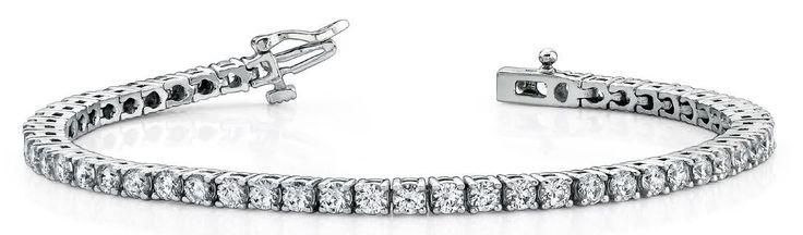 iamantarmband mit 5.00 Karat Diamanten aus 585er Weißgold bei www.diamantring.be für nur 7150.00 Euro Versandkostenfrei bestellen.