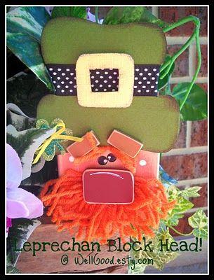 Cutest little Leprechaun Man from 2x4's!