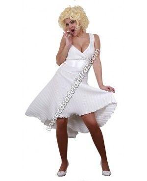 Disfraz de Marilyn Monroe para Carnaval #DisfracesBaratos #DisfracesDivertidos http://casadeldisfraz.com/