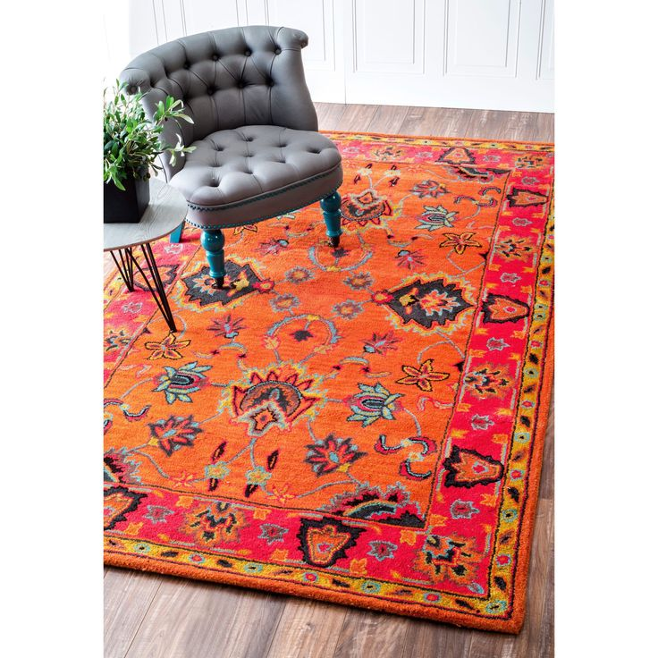This Handmade Wool Area Rug Uses Subtle And Modern Colors To Match Todayu0027s  Interiors. Plush