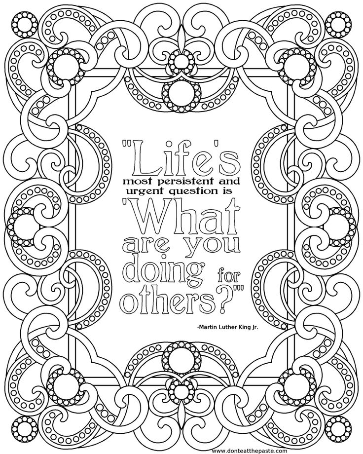 151 best MLK Day   Black History Month images on Pinterest School - copy coloring pages of dr martin luther king jr