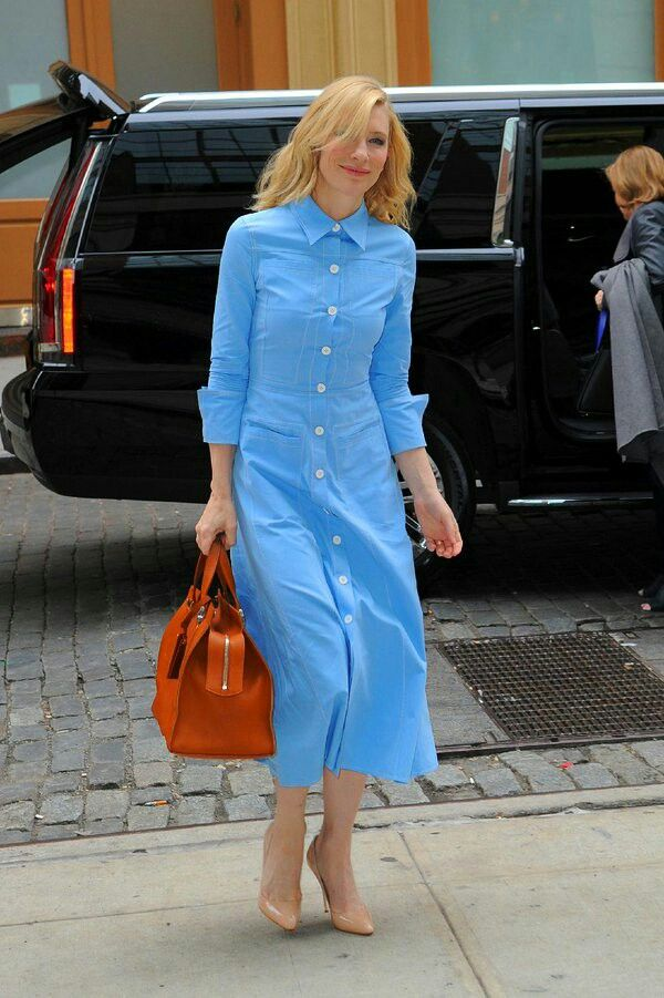 Need to make this chambray dress on Cate B!