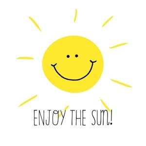 Enjoy the sun! #Hallmark #HallmarkNL #sun #hot #enjoy #smiley