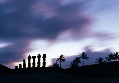 Anakena Easter Island, named my cat after this beach/cluster of moai