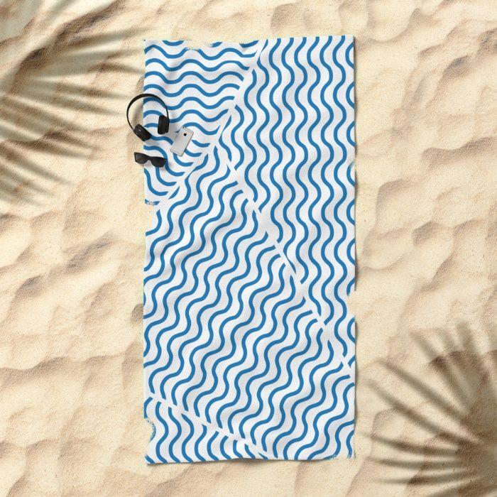 Stormy Seas Towel by Fimbis | Society6 water, wavy, ocean, nautical, sailing, sailor, sea, ocean, summer, beach, design, fashion,
