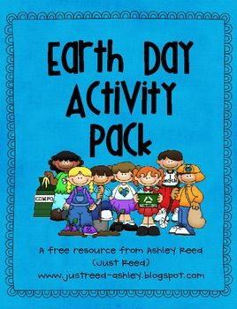 Free!! Earth Day Activity pack! Words search, abc order & more!