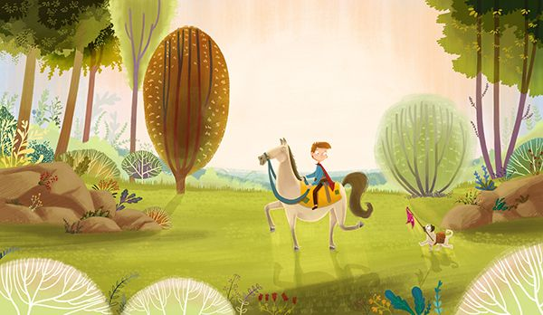 A Knight and His Page on Behance