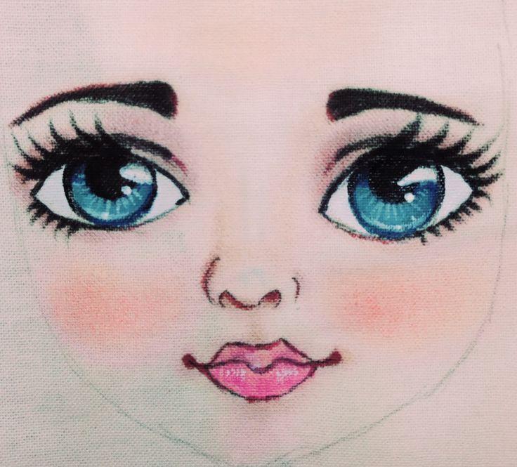 рисунки мила лиды с глазами очень милые вообще видят, что