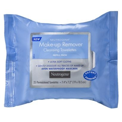Neutrogena Makeup Remover Wipes, $4.99. I really want to try these cleansing wipes.