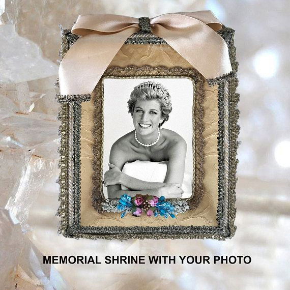 MEMORIAL SHRINE CUSTOM with your photo Handmade Personalized