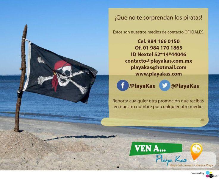¡Aguas con los piratas!