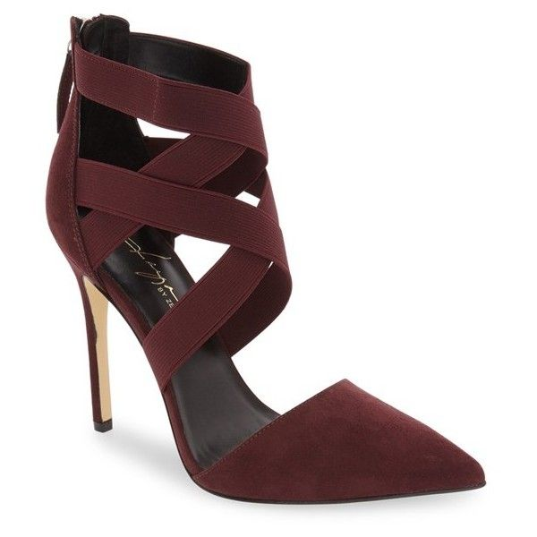Women's Daya By Zendaya 'Kaser' Pointy Toe Pump ($100) ❤ liked on Polyvore featuring shoes, pumps, plum, stilettos shoes, pointed toe stilettos, plum pumps, pointed toe shoes and pointy toe shoes http://fave.co/2dj7J7E