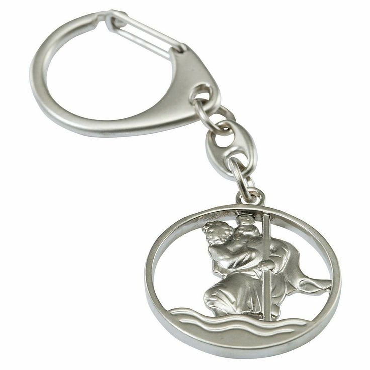 Schlüsselanhänger mit dem Motiv des heiligen #Christophorus bei Vivat! ...