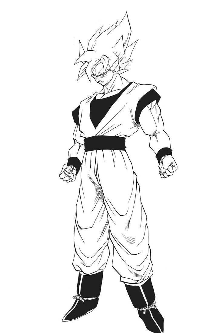 23 best Dragon Ball Z Coloring