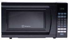 Westinghouse - 0.7 Cu. Ft. Compact Microwave - Black