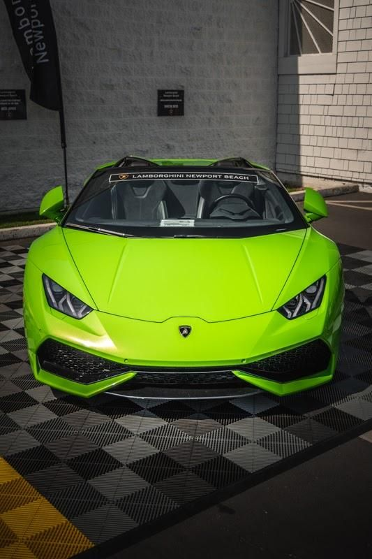 A Huracan From The Supercar Show At Lamborghini Newport Beach This