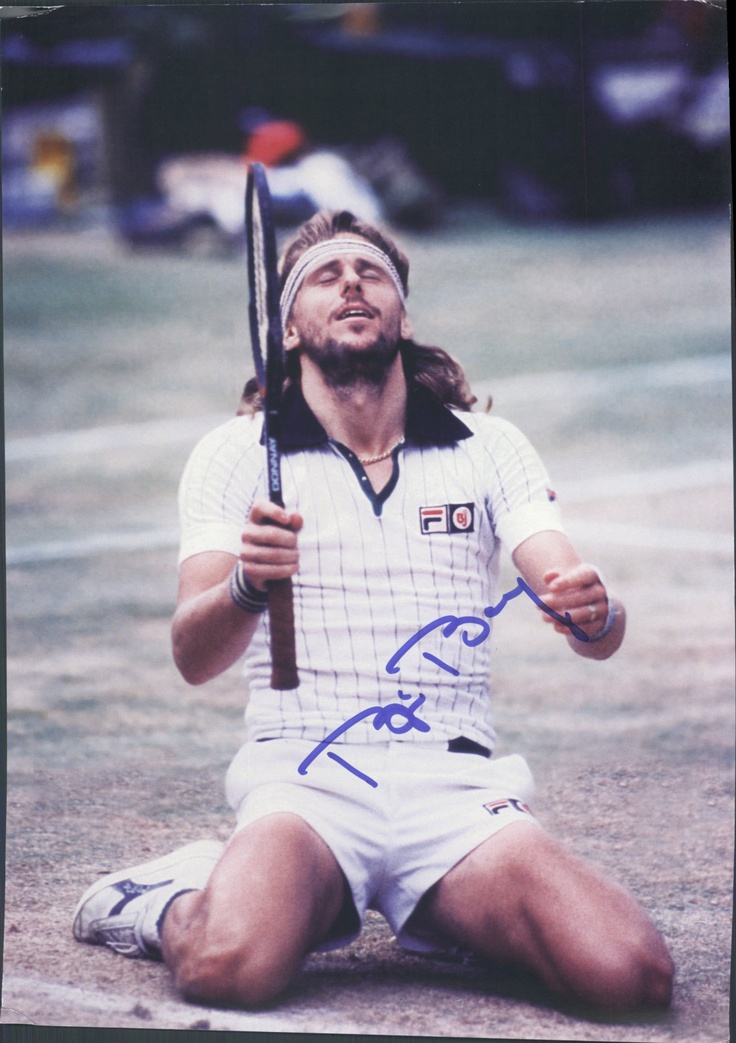 bjorn borg tennis 70s 80s