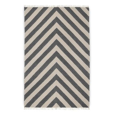 1.2x1.5m Gatsby Rug in Smoke