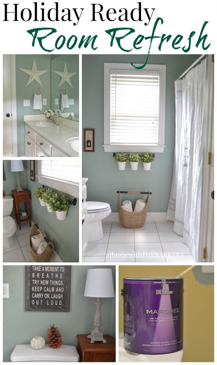 Best 25 behr marquee paint ideas on pinterest inexpensive bathroom remodel tiles for less - Bathroom makeover practical refreshing ideas ...