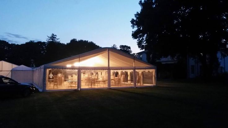 A Stunning panoramic window in our new marquee - if you have a view - show it off! #marquee #weddingmarquee #weddingvenue #summerwedding