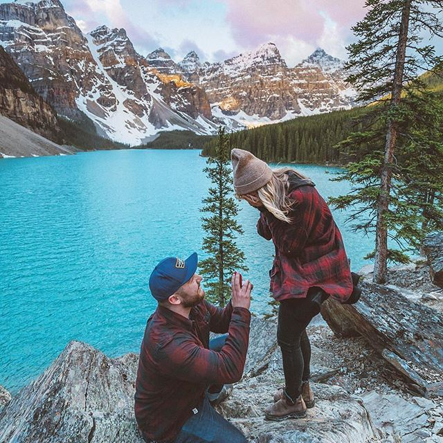 Such A Fun Moment A Proposal At Our Venue Tower Theater: We Love This Moment @ryanmagdanz Created At Moraine Lake