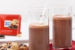 Heiße RITTER SPORT Marzipanschokolade