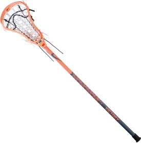 The Nike® Arise on Victory Tapre complete lacrosse stick is perfect for intermediate players looking to up their game. The Arise head features a minimum sidewall design that offers the deepest legal pocket, providing excellent control. The raised ball stop height adds additional control while you're in possession. The Victory Tapre shaft features a soft, rubberized finish for a secure grip and great feel that brings reliable performance.