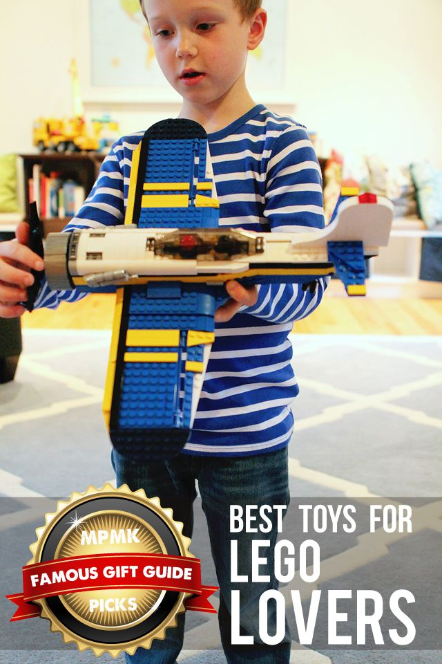 MPMK Toy Gift Guide: Best LEGO building toys for developing math, problem-solving, and spatial thinking skills - love that there are suggested age ranges and detailed descriptions.