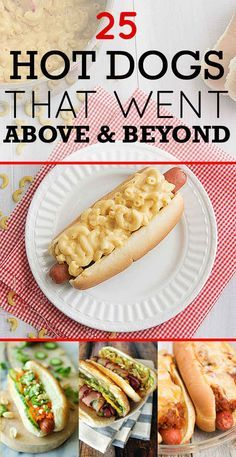 "I just realized I don't have a ""summertime"" themed board, because these 25 top hot dogs would fit in perfectly if I did"