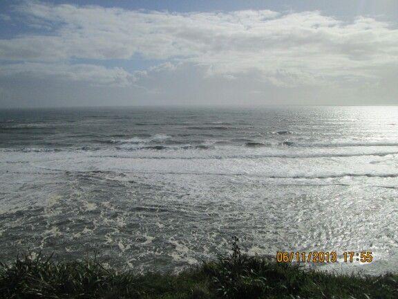 Disfrutando la belleza del mar chileno