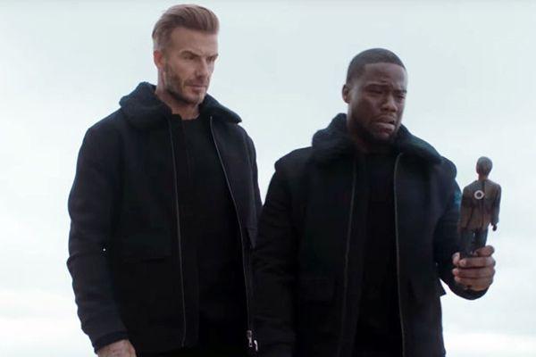 David Beckham-Kevin Hart H&M Comedy Teaser