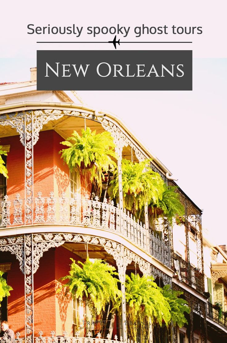 Seriously Spooky Ghost Tours in New Orleans