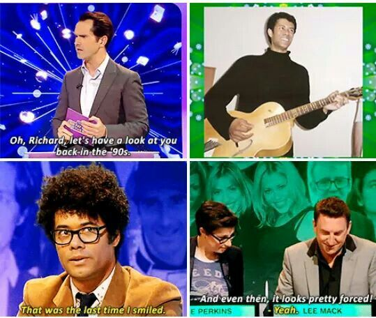 Buahaha Richard Ayoade on Big Fat Quiz Show