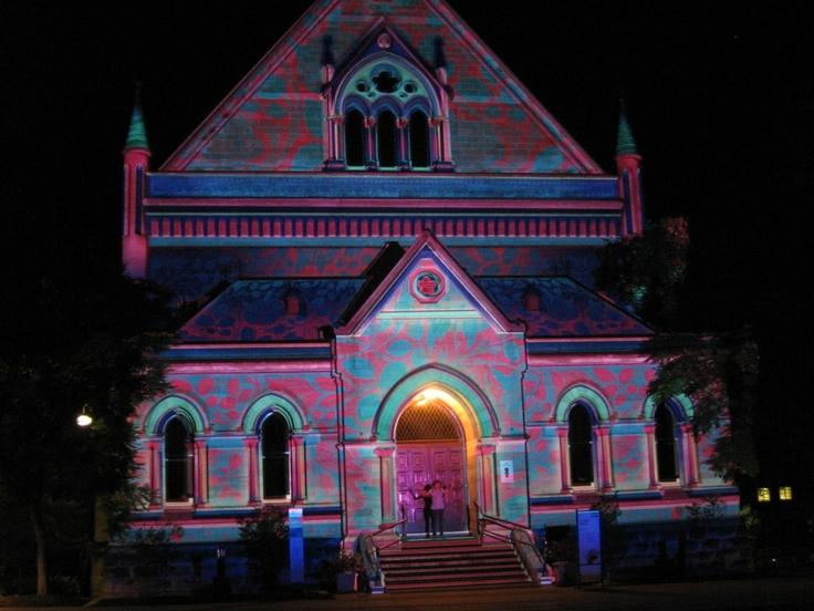 Adelaide, Australia - Northern lights festival