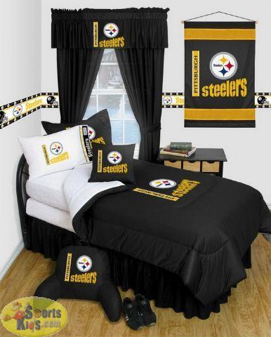 Steelers Bedroom Ideas 54 best pittsburgh steelers bedroom decor images on pinterest